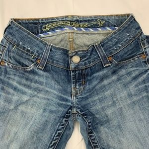 American Eagle Distressed Boot Cut Jeans 2